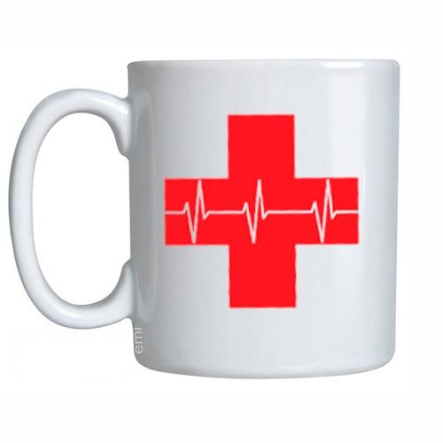 Caneca Cruz Vermelha Saúde