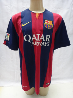 Camisa De Futebol Barcelona 2014 2015 Nike Qatar # 11 Neymar