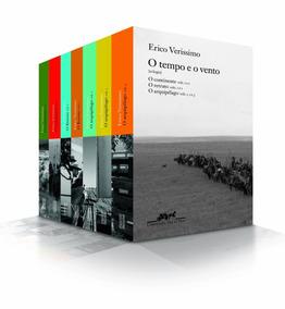 O Tempo E O Vento - Caixa Com 7 Volumes - Novo E Lacrado!