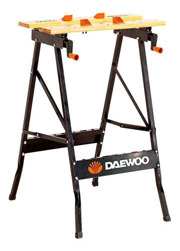 Banco De Trabajo Daewoo Plegable 70kg Con Prensa/morsa