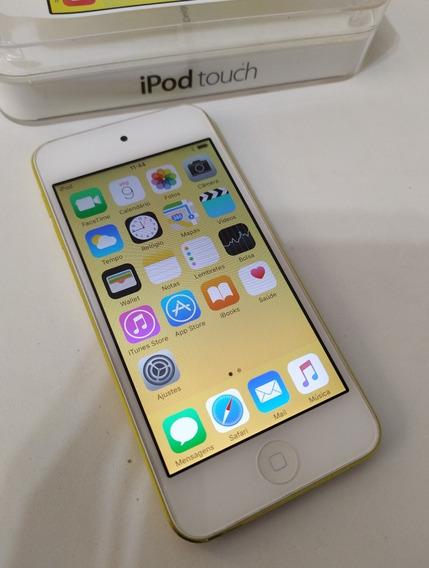 iPod Touch 5 32gb Apple Amarelo Caixa - Usado Kf4jr ( Leia )