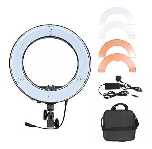 Iluminador Led Ring Light Circular Rl18 C/ (nfe)