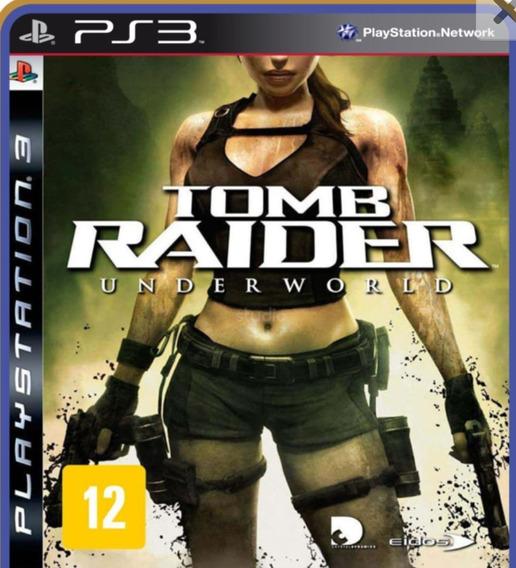 Tomb Raider Underworld Ps3 Play 3 Jogo Em Oferta Comprar