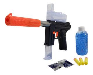 Pistola Lanza Bolas En Gel Con Silenciador Pistola Juguete -