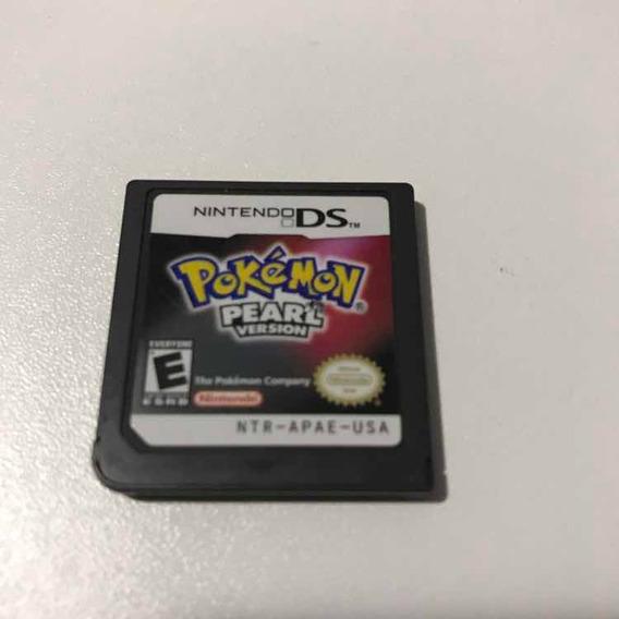 Pokémon Pearl Version Só O Jogo Nintendo Ds