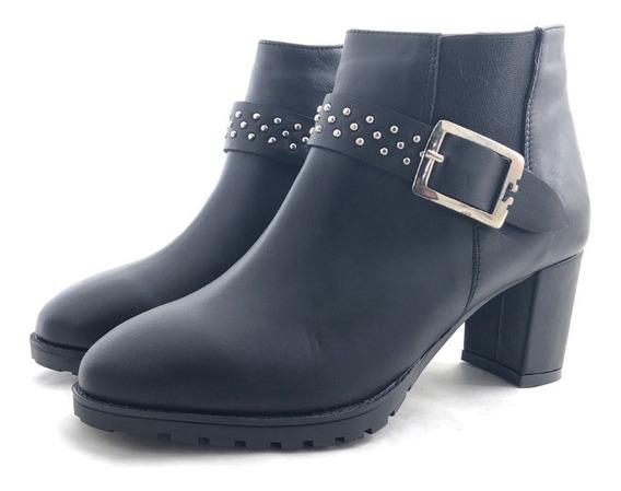Gravagna 4509 Botineta Cuero Elegante El Mercado De Zapatos!