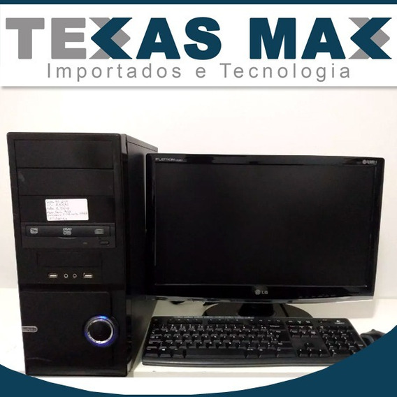 Computador Core I3 2100 Monitor 15 Polegadas Teclado E Mouse