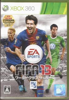 Fifa 13 Xbox 360 Solo Para Consolas Japonesa