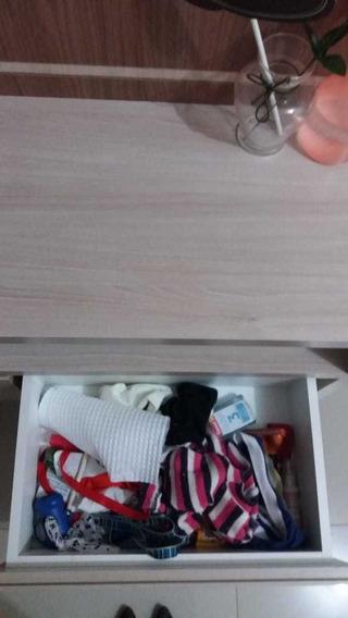 Painel Pra Tv Com Rack Suspenso 33cm, Com Led No Nicho (vari
