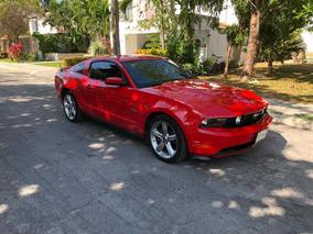 Ford Mustang Gt 5.0 V8 Ta 2011 Rojo