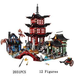 Bloques De Construcción Templo Airjitzu 70751 Leer Descrip
