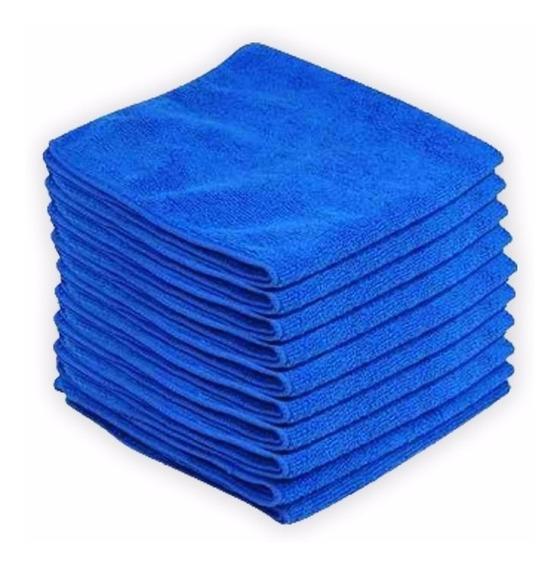 Pack 10 Paños Microfibra 30x30 Cm - Calidad Super Absorbente