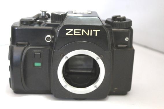 Câmera Fotografica Zenit 122 Retro Coleção Retirada De Peças