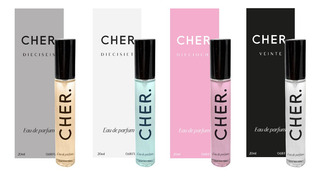 Set Perfume Mujer Cher X 4 Tallas 20 Ml-the Fragance Kit