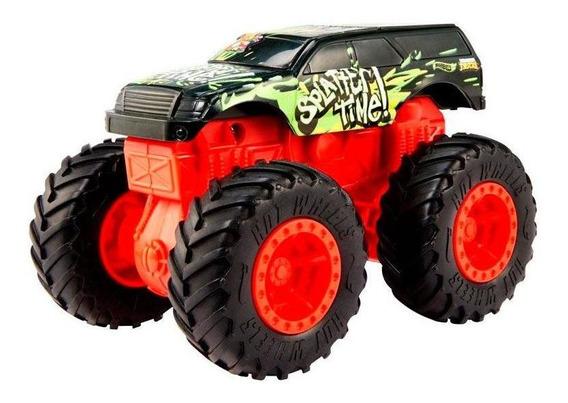 Hot Wheels Monster Bash Ups Trucks Splatter Time - Mattel