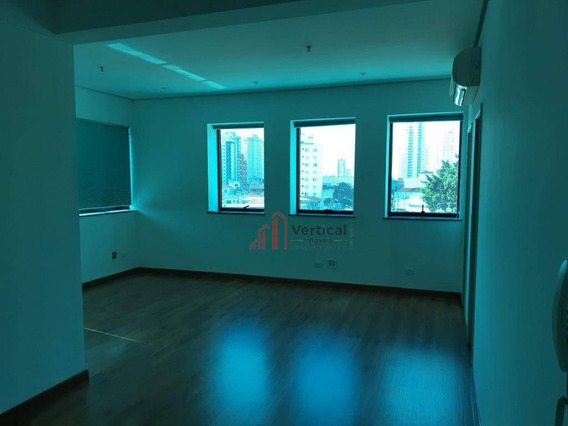 Sala Para Alugar, 31 M² Por R$ 1.300,00/mês - Tatuapé - São Paulo/sp - Sa0551