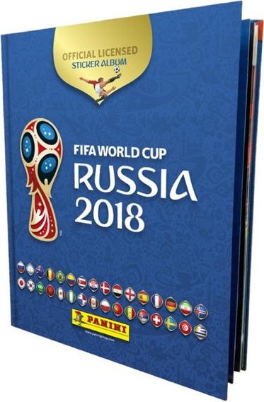 Album Panini Pasta Dura Mundial Russia 2018 Nuevo Original