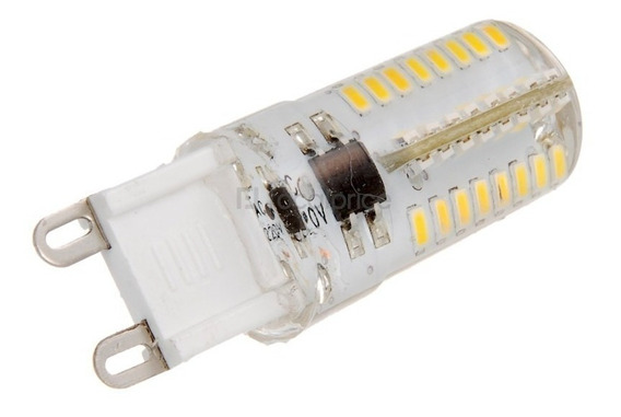 Lampada G9 Led Halopin 7w 110v Branco Frio/quente Silicone