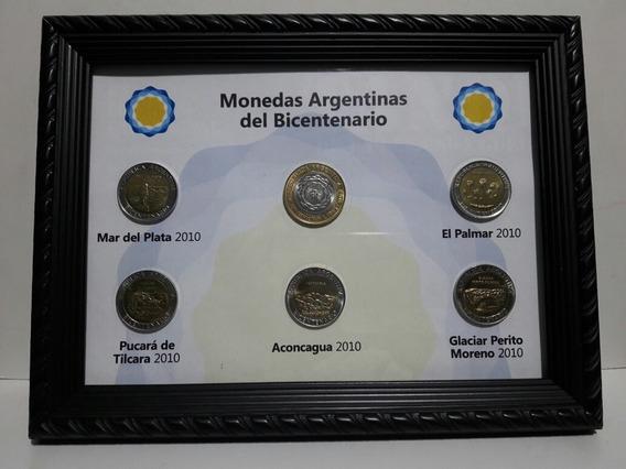 Set De Monedas Argentinas Conmemorativas Del Bicentenario