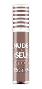 Batom Líquido Dailus Morena Nude Cor 10
