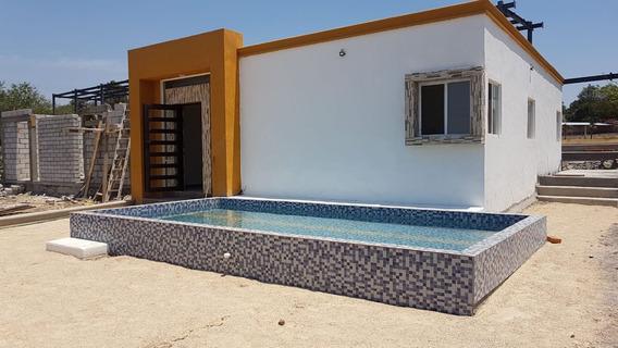 Casa Sola Con Alberca.clima Hermo