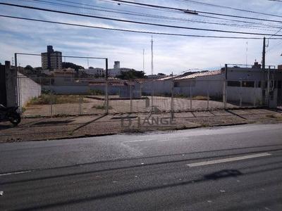 Terreno Para Alugar, 700 M² Por R$ 3.000/mês - Taquaral - Campinas/sp - Te3845