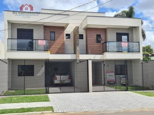 Sobrado Para Venda Em Curitiba, Cajuru, 3 Dormitórios, 1 Suíte, 3 Banheiros, 2 Vagas - So048_1-1666864
