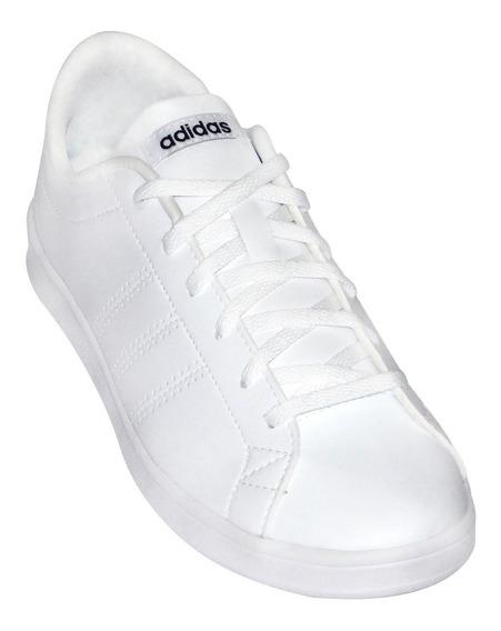 Tenis adidas Blanco Escolar Advantage Clean Qt B446667