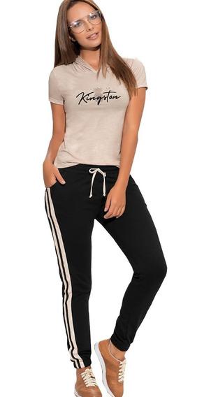 Conjunto Deportivo Jogger Sudadera Blusa Capucha Mujer Dama