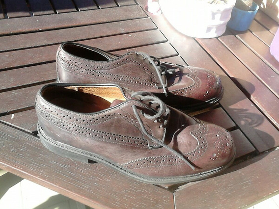 Zapatos Cuero Hush Puppies 40 (a Mitad De Precio !! )