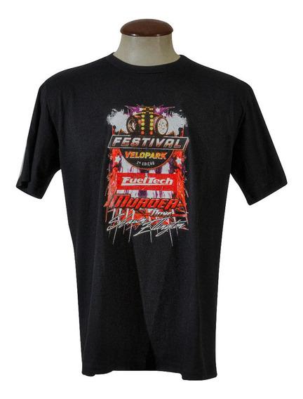 Camiseta - Festival Velopark 2019 - Murder Nova