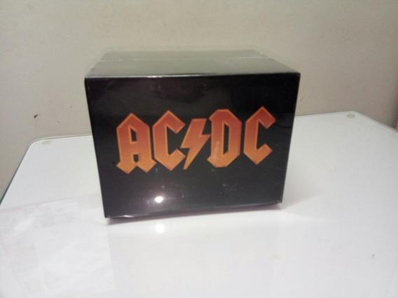 Cd Box Ac/dc Discografia Completa 17 Cds + Brinde