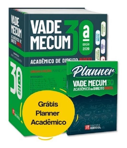 Vade Mecum Acadêmico De Direito 30° Ed. 2020 - 1°semestre