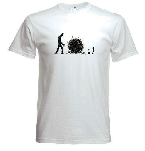 Remera Bebe Groot Hombre Coleccion 2 Firefly