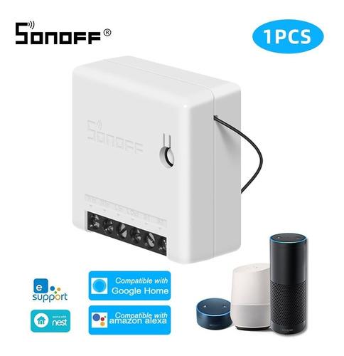 Interruptorswitch Sonoff Mini 2 Vias Google Home Mini Amazon