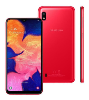 Smartphone Samsung Galaxy A10 32gb Dual Tela 6.2 Vermelho