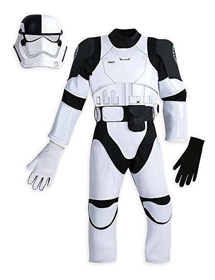 Disfraz De Stormtrooper De Star Wars Para Niños The Last Je