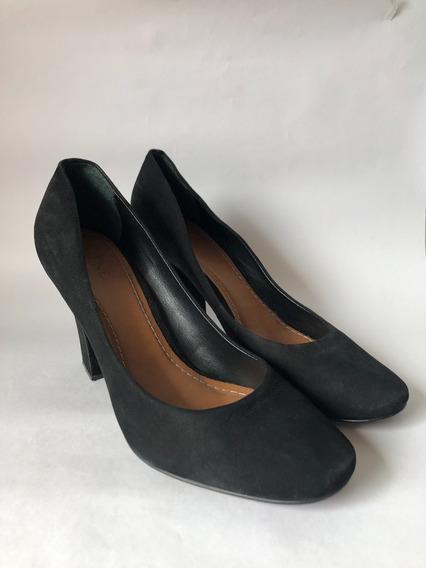 Zapatos De Cuero Nobuck Marca Prune Numero 40