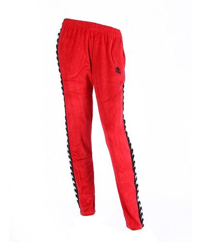 Pantalon Kappa Authentic Melody Rojo/neg Mujer