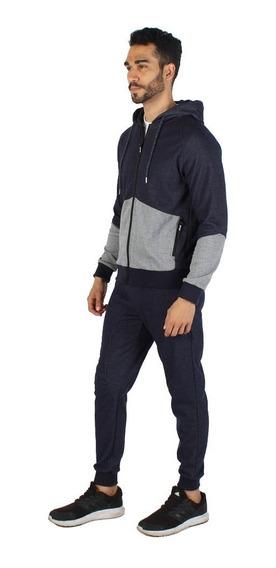 Pants Hombre Greenlander Set6741 Manga Ranglan Capucha