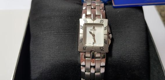 Relógio Seiko Feminino Puseira Aço Inox