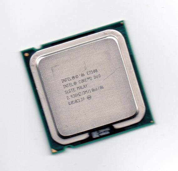 Processador Intel Core 2 Duo E7500 2.93ghz 3mb Cache + Frete