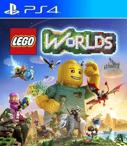Lego Worlds Ps4 Digital Original 1