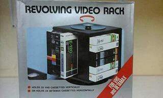 Rack Para Vhs Y Betamax Armable De Los 80s