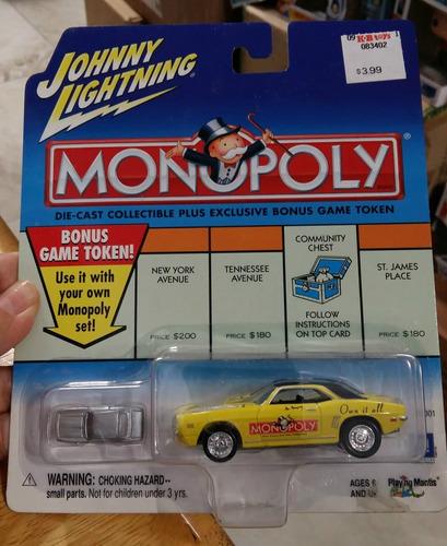 Johnny Lightning Monopoly 1969 Chevrolet Camaro 1:64