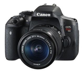 Camara Canon Rebel T6i 750d Con Lente 18-55mm Stm Dslr Nueva