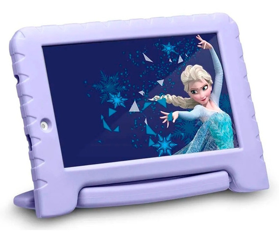 Tablet Infantil Frozen 8gb Wifi Camera Quadcore Android 7.0