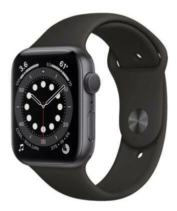 Apple Watch Series 6 44 Mm Caja De Aluminio Gris Espacial...