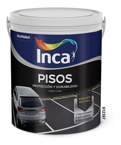 Imagen 1 de 1 de Pintura Para Pisos Inca 4 Litros.