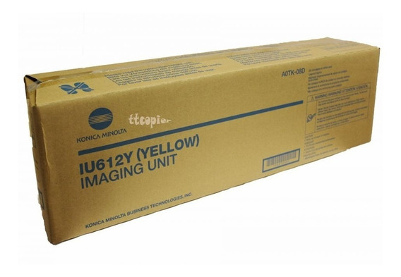 Iu612y Unidade De Imagem Konica C452 C552 C652 Yellow